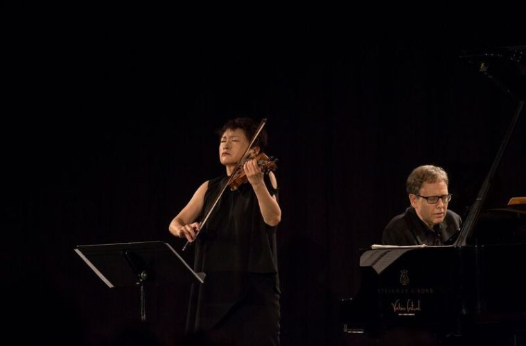 Violinist Kyung Wha Chung and pianist Kevin Kenner