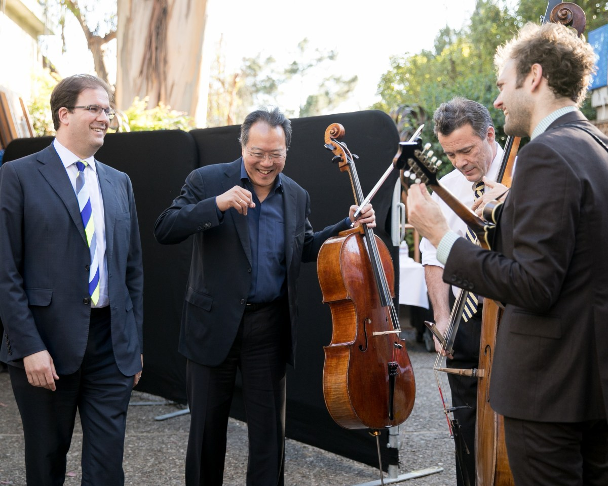 Yo-Yo Ma, Edgar Meyer, and Chris Thile