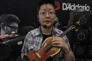 D'Addario student strings at Summer NAMM 2017