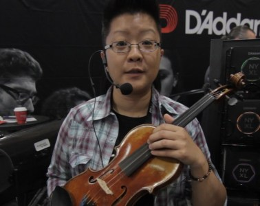 D'Addario student strings at Summer NAMM 2017