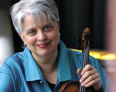 Violinist Jorja Fleezanis