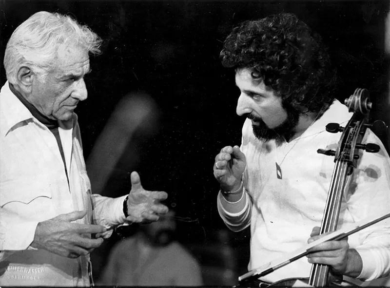 Mischa Maisky with Bernstein