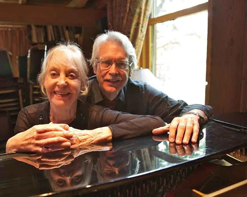 Violinist Rose Mary Harbison and composer John Harbison