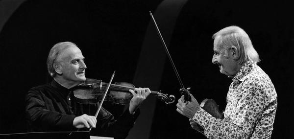 Menuhin and Stephane Grappeli