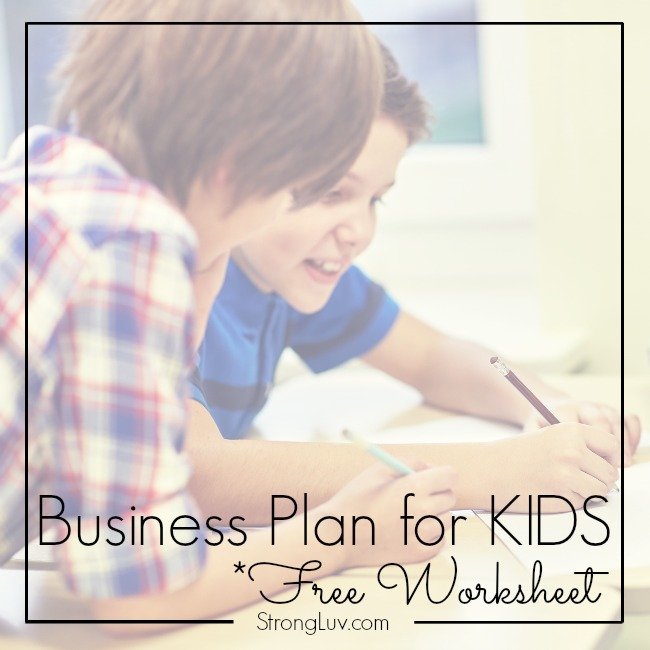 business plan for kids entertainment
