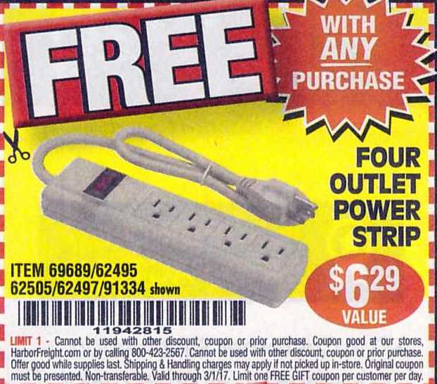 Harbor Freight Free Coupons – Struggleville