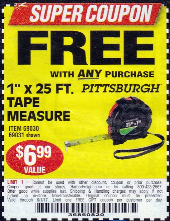 Harbor freight inside track coupons