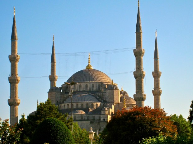 Blue Mosque Exterior, Istanbul, Turkey