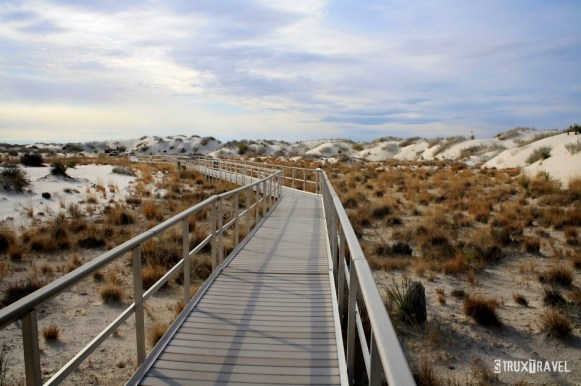 White Sands catwalk