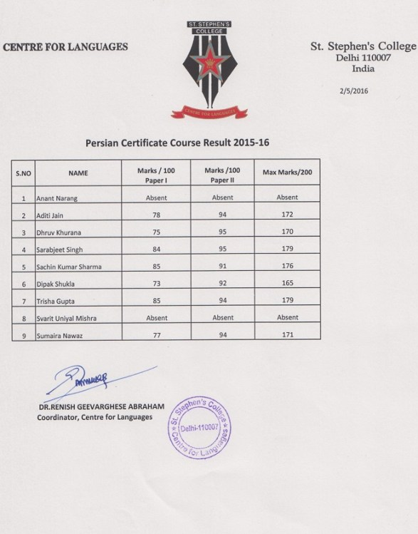 CFL-Persian-Result-2015-16