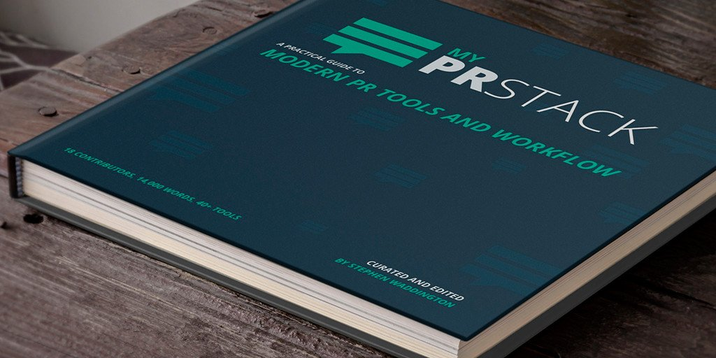 PRstack book cover