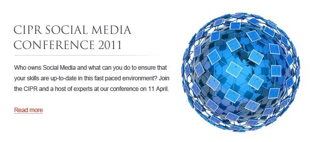 CIPR Social Media Conference 2011