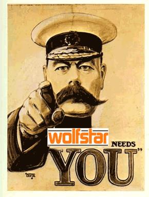 Wolfstar needs you
