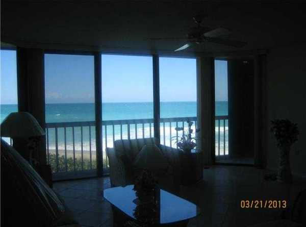 View from Island Dunes Oceanside Condo Unit 305