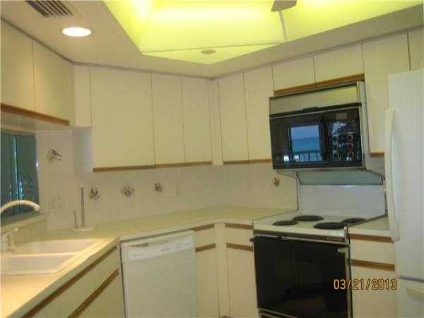 Kitchen of Island Dunes Oceanside Condo Unit 305