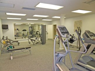 Fitness Room in the Suntide Condo on Hutchinson Island