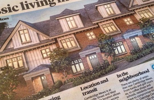 Make sure to check out the Vancouver Metro/Metro Homes section for an article featuring one of our designs by Stuart. A fantastic design that is ready for 6 families to make it their new home. #vanarch #newhome #design #vancouver #vancouvermetro #newspaper