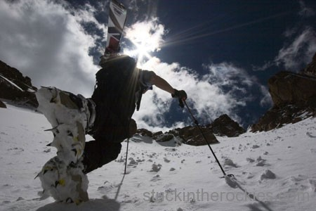 14er Ski Descents – Pikes Peak – May 15, 2006