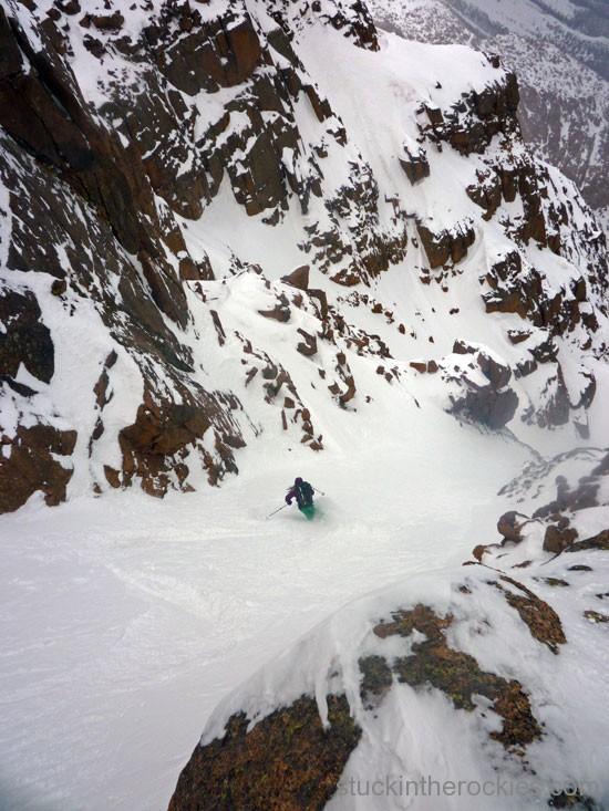 14er Ski Descents – Pikes Peak – May 1, 2010