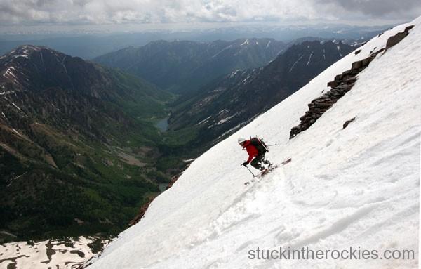14er Ski Descents – North Maroon Peak – June 9, 2006