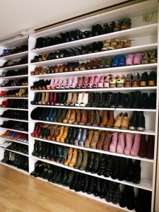 organised shoes