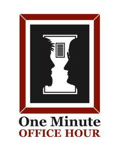 One Minute Office Hour Logo