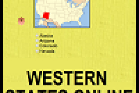 western usa geography free educational materials