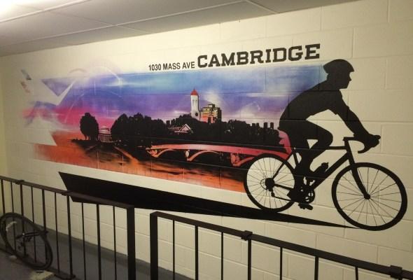 Bike Storage Room Mural