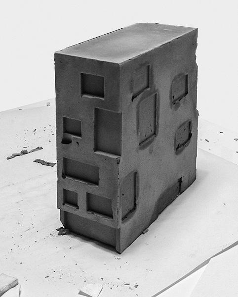 Concrete Townhouse Studio Razavi Architecture