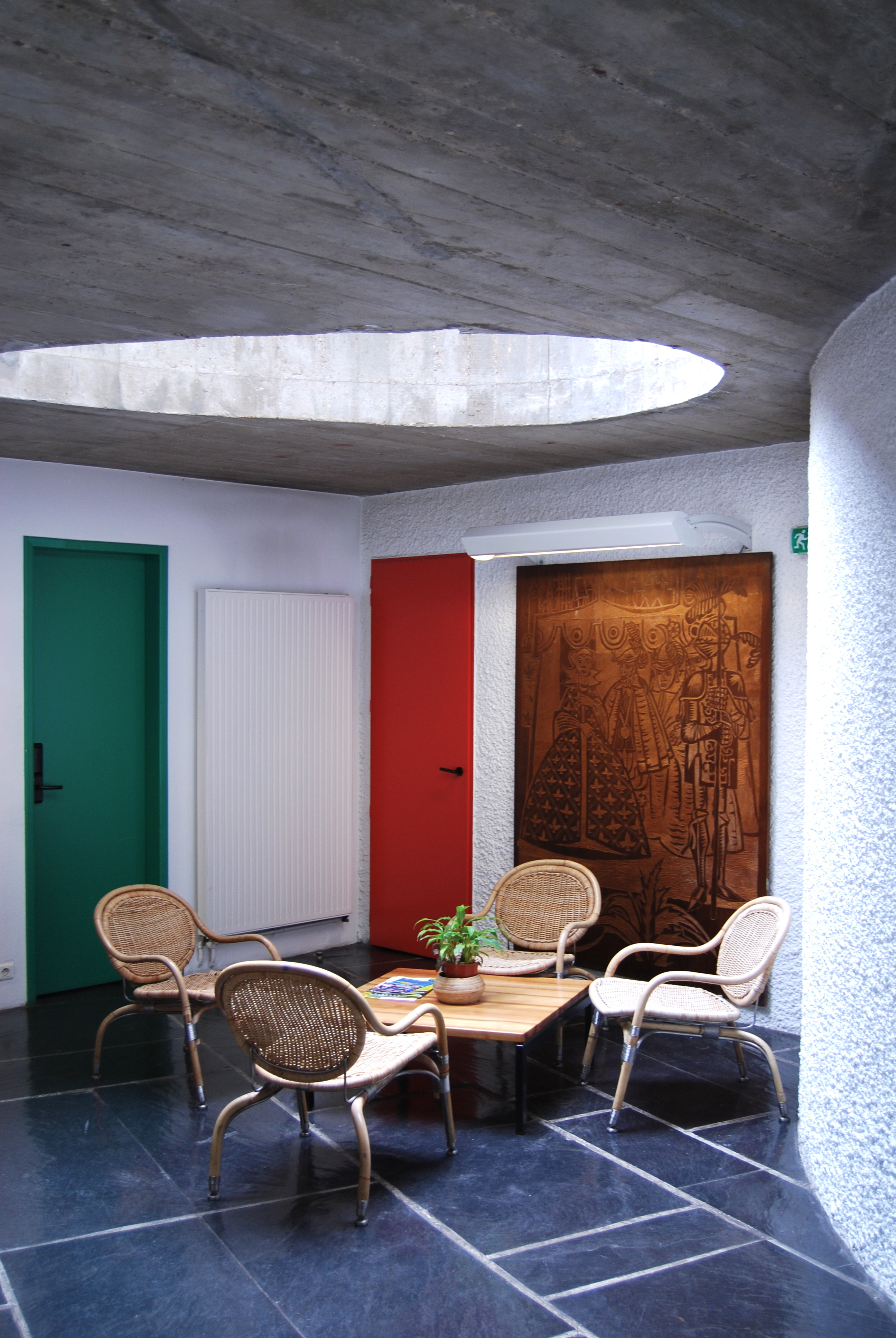 maison du brasil paris by le corbusier cate st hill. Black Bedroom Furniture Sets. Home Design Ideas