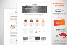 Site web pour un hébergeur web vert
