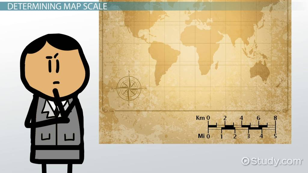 What is a Map Key Legend    Definition  Symbols   Examples   Video     Map Scale Lesson for Kids