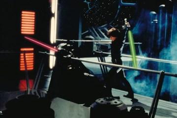 Luke Skywalker Fighting Darth Vader