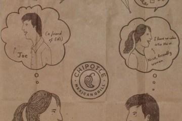 Chipotle Brown Bag Comic