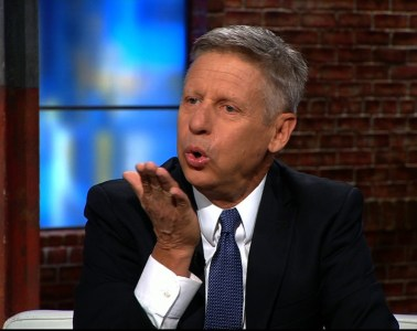 Gary Johnson: The Wrong Man for the Right Job
