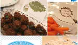 Frozen Party Family Movie Night and Dinner + Free Printables & Family Questions StuffedSuitcase.com