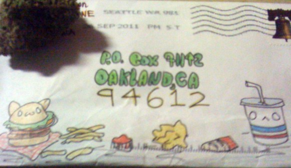 dope envelope for stuff stoners like stickers