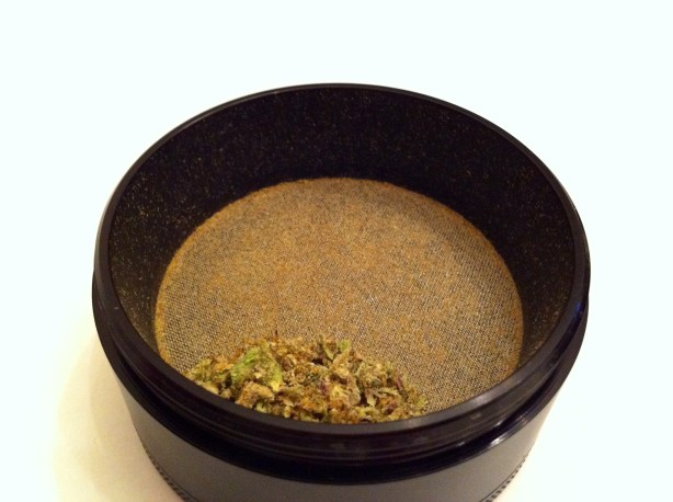 Grand Daddy Purple x Hindu Kush Marijuana Strain Grinder