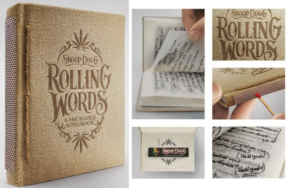 Snoop Dogg Smokable Songbook with Rolling Papers