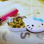 metal hello kitty weed stash jar