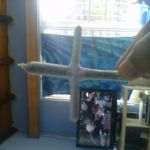 cross joint filled with marijuana