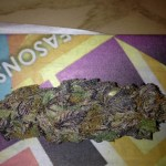 purple colored weed is gooooood