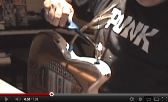 sugar slam guitar bong promo