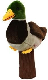 Mallard duck golf club head cover