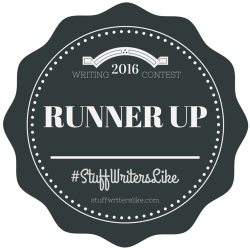 2016 Stuff Writers Like Writing Contest Runner Up A.R. Braun