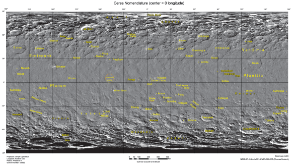 Ceres mapping
