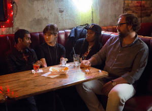 Cool friends in Master of None