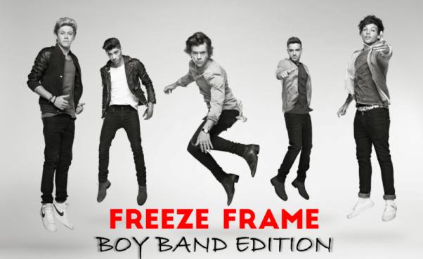 Freeze Frame Boy Band Edition