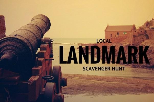 Local Landmark Scavenger Hunt