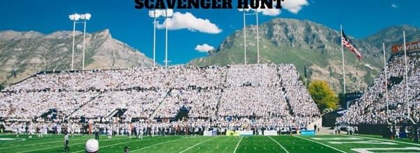 football scavenger hunt